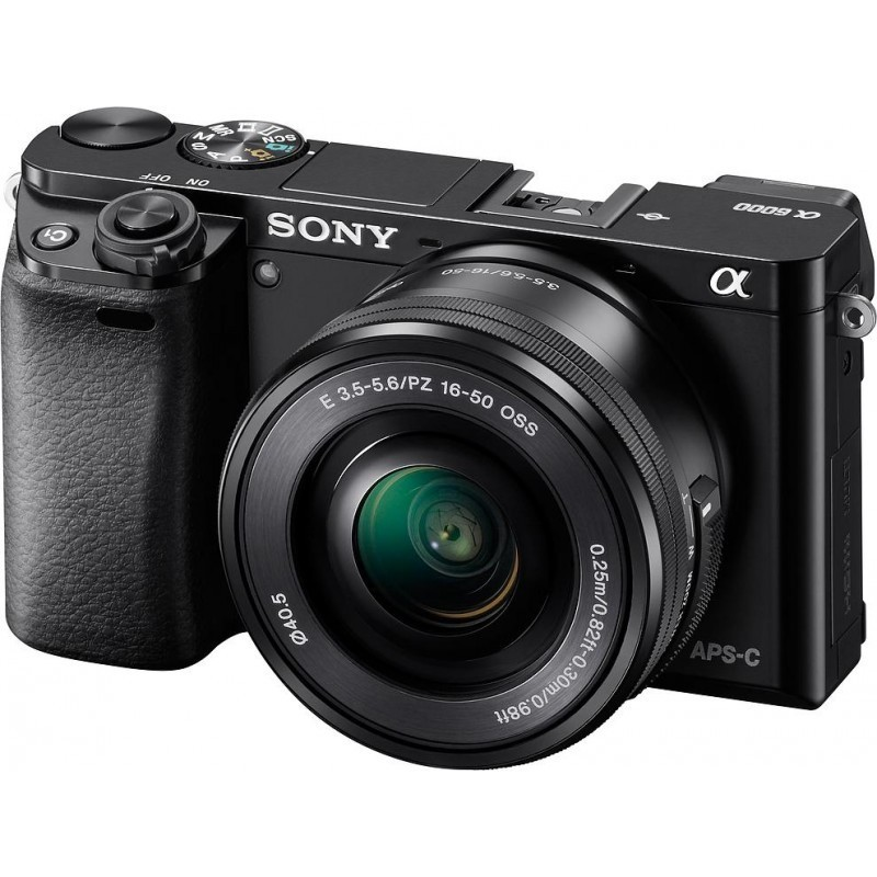 Sony a6000 + 16-50mm Kit, black