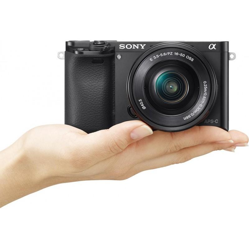 Sony a6000 + 16-50 мм + 55-210 мм Kit, чёрный