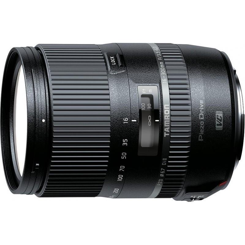 Tamron 16-300mm f/3.5-6.3 DI II VC PZD Macro objektiiv Canonile