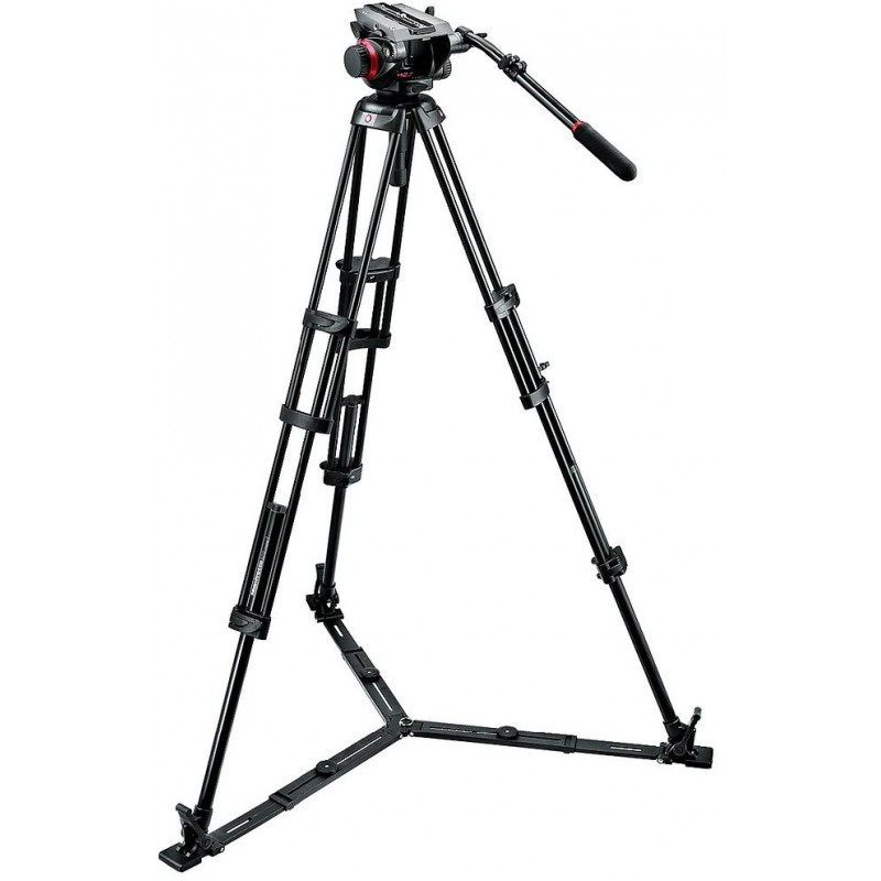 Manfrotto videostatiiv 546GBK + 504HD Pro Video statiivipea
