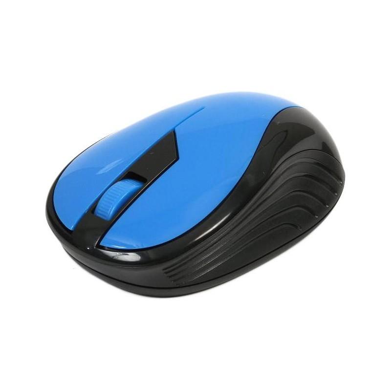 Omega mouse OM-415 Wireless, blue/black