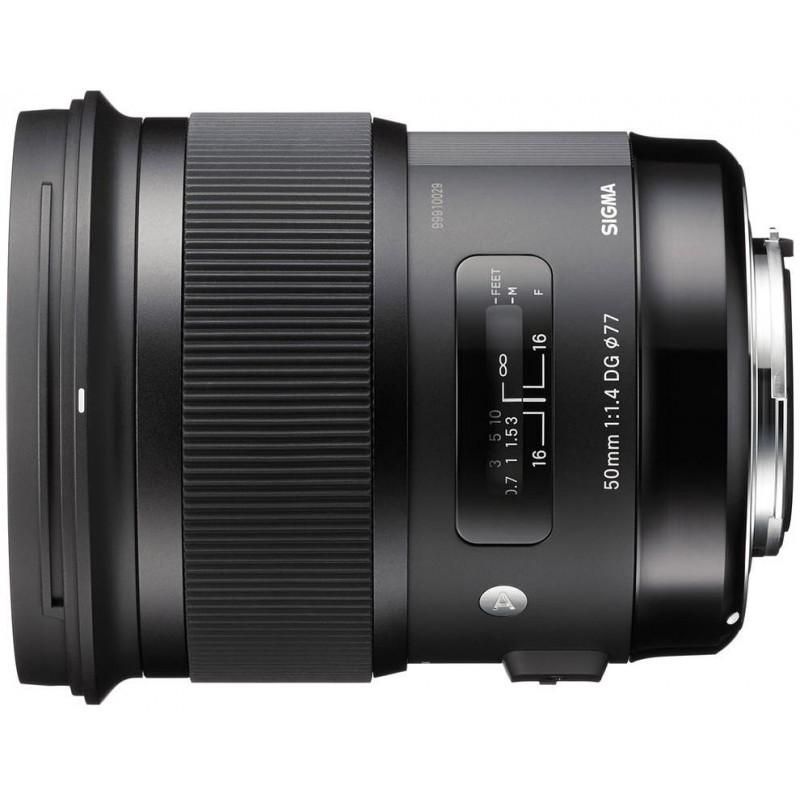Sigma 50mm f/1.4 DG HSM Art objektiiv Canonile