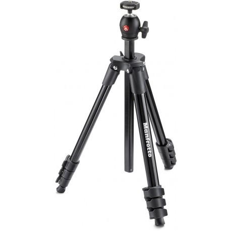 Manfrotto statiiv MKCOMPACTLT-BK, must