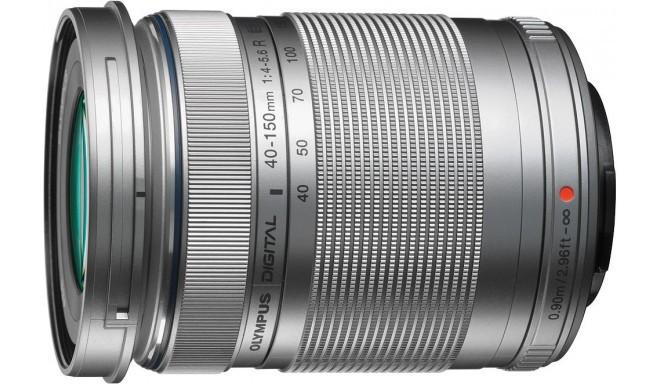 M.Zuiko Digital ED 40-150mm f/4-5.6 R objektiiv, hõbedane