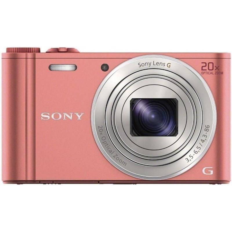 Sony DSC-WX350, roosa