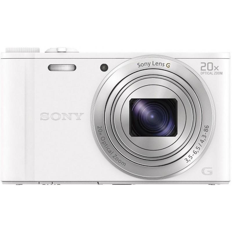 Sony DSC-WX350, valge