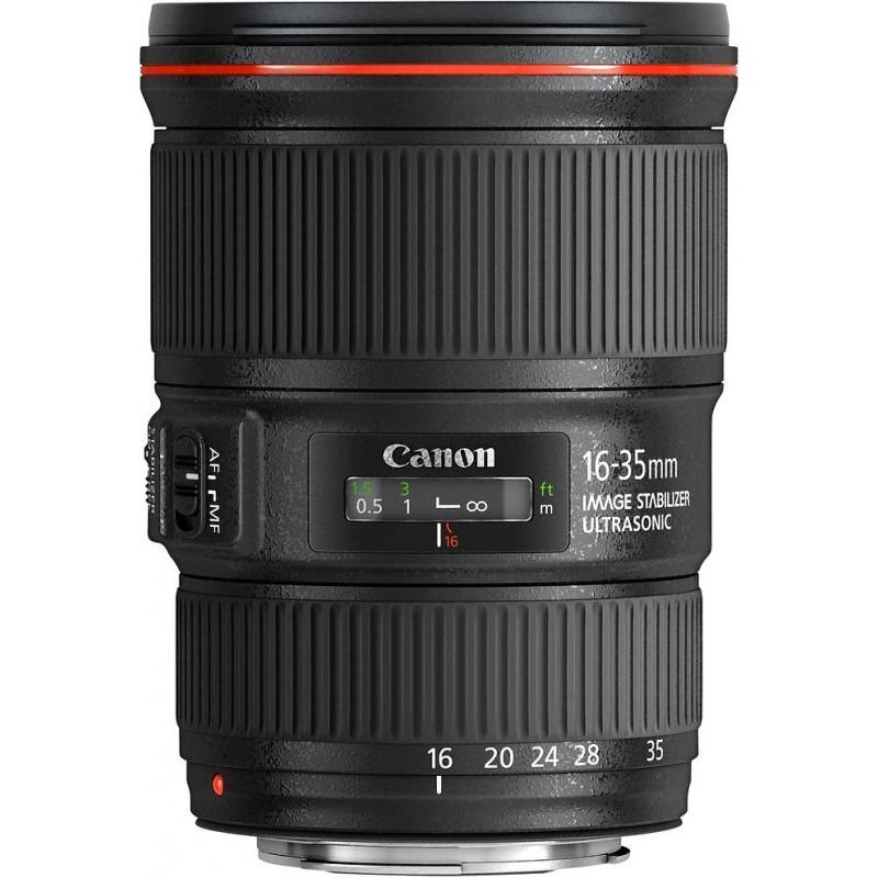 Canon EF 16-35mm f/4.0L IS USM objektiiv