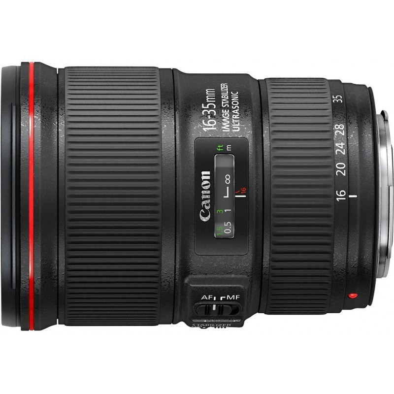 Canon EF 16-35mm f/4.0L IS USM objektiiv