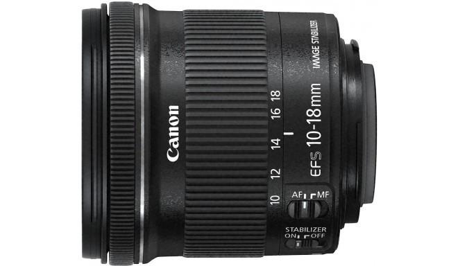 Canon EF-S 10-18мм f/4.5-5.6 IS STM объектив