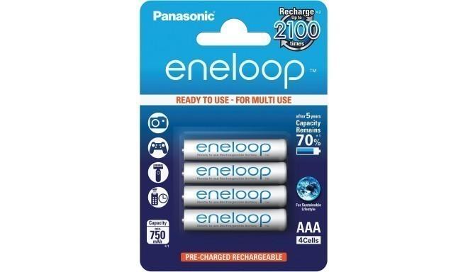 Panasonic eneloop aku AAA 750 4BP