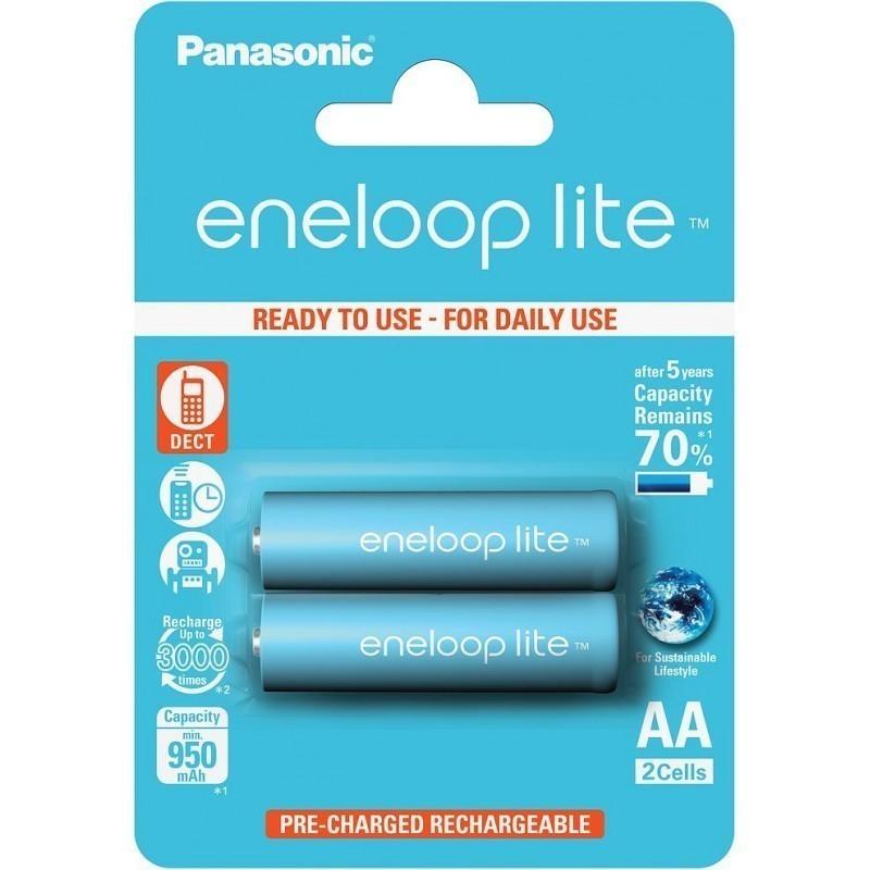 Panasonic eneloop aku lite AA 950 2BP