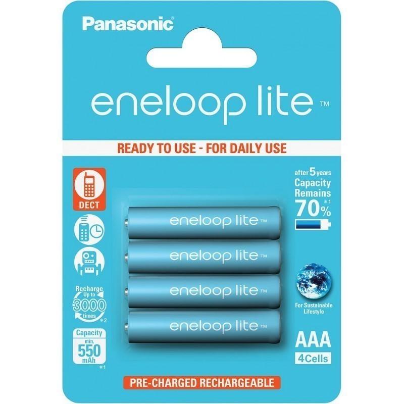 Panasonic eneloop aku lite AAA 550 4BP
