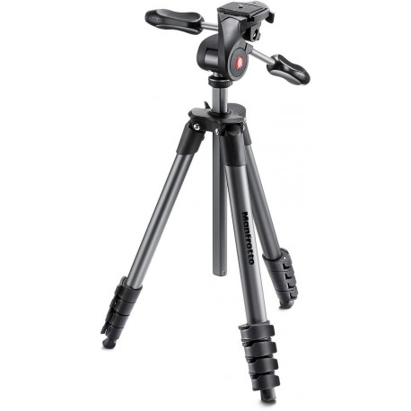 Manfrotto tripod MKCOMPACTADV-BK, black