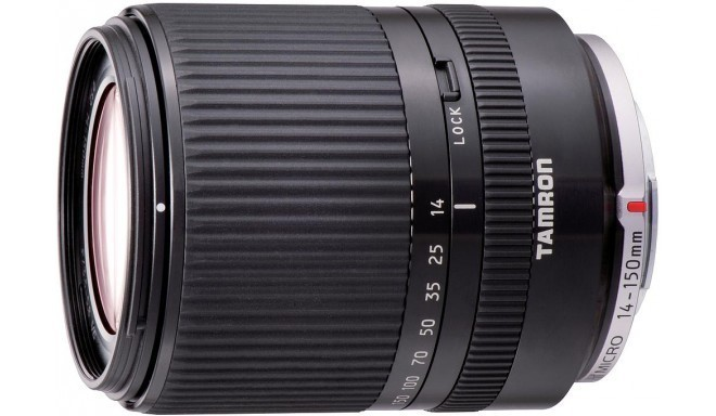 Tamron 14-150mm f/3.5-5.8 DI III lens for Micro four Thirds, black