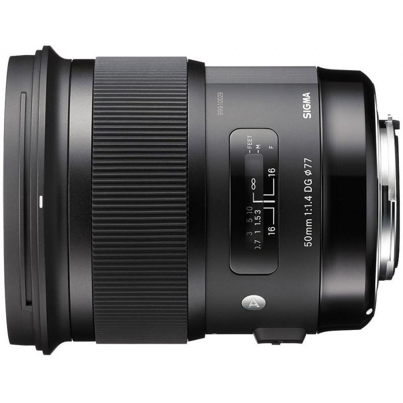Sigma AF 50mm f/1.4 DG HSM Art objektiiv Nikonile