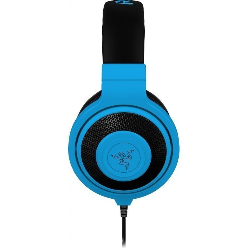 Razer headphones Kraken Neon, blue - Headphones - Photopoint