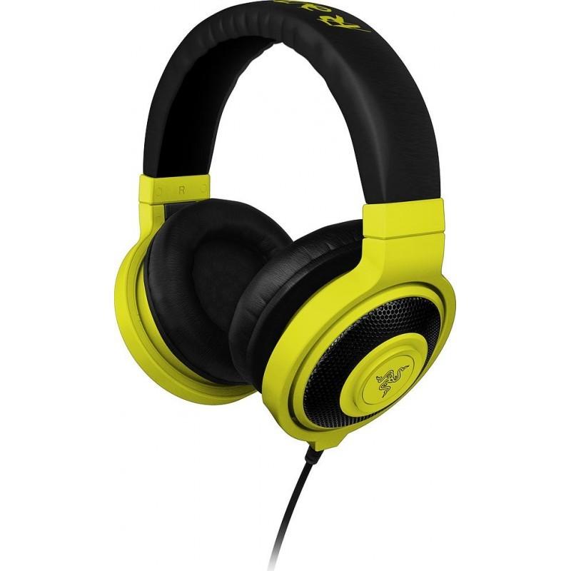 Razer kõrvaklapid Kraken Neon, kollane