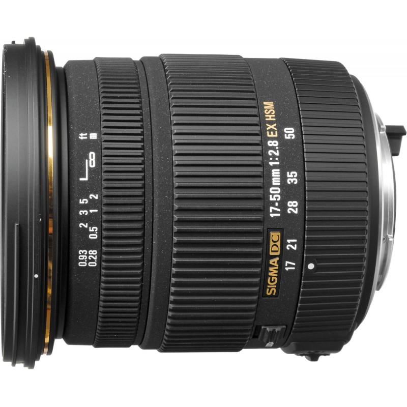 Sigma 17-50mm f/2.8 EX DC HSM objektiiv Pentaxile