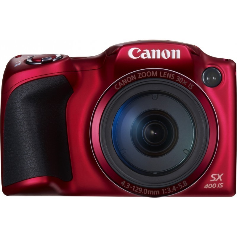 Canon PowerShot SX400 IS, punane