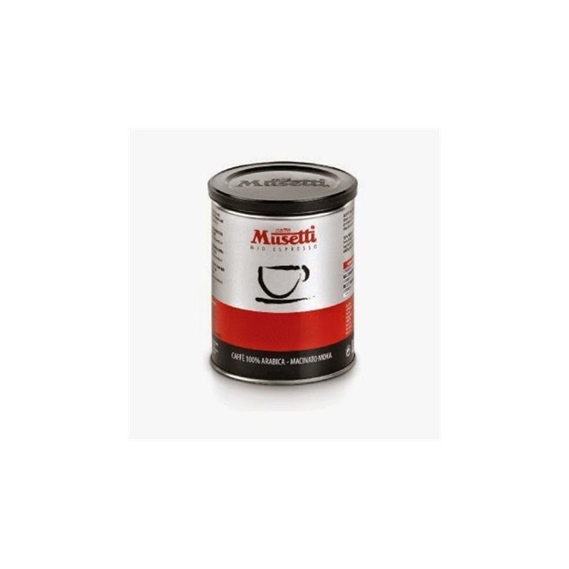 Caffe musetti evoluzione ground coffee 100 photopoint for Musetti coffee