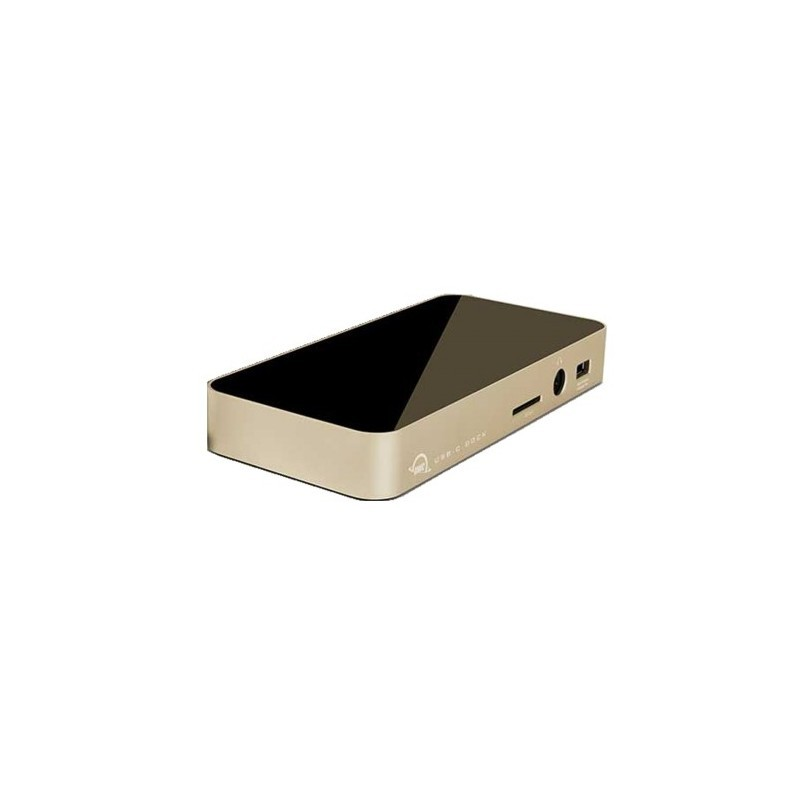 Docking station - USB-C Dock (11 ports) gold
