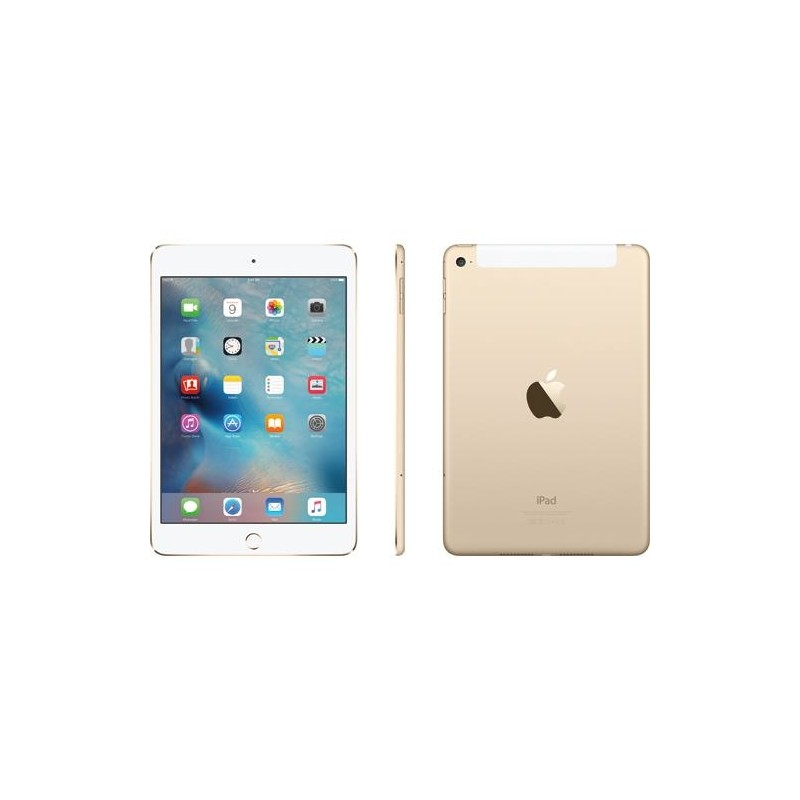 Apple IPad Mini 4 Wi Fi Cell 128GB Gold