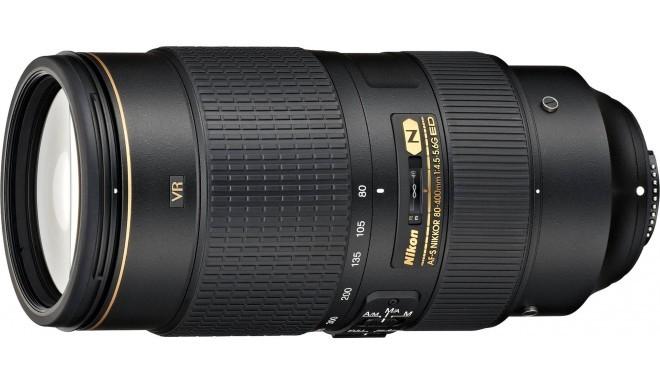 Nikon AF-S Nikkor 80-400мм f/4.5-5.6G ED VR объектив