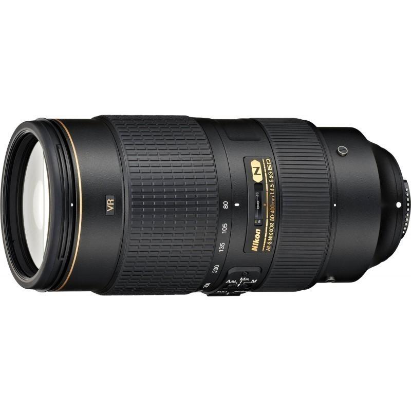 Nikkor AF-S 80-400/F4,5-5,6G ED VR