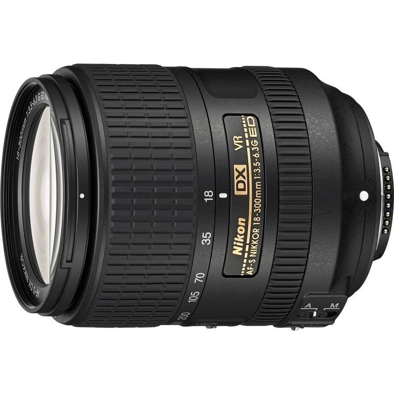 Nikon AF-S DX Nikkor 18-300mm f/3.5-6.3G ED VR objektiiv