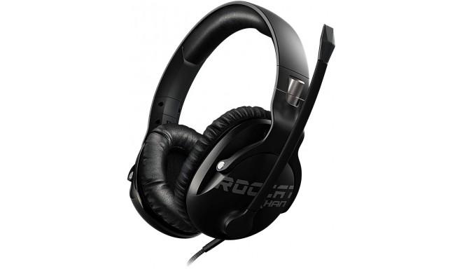 Roccat kõrvaklapid + mikrofon Khan Pro, must (ROC-14-622)