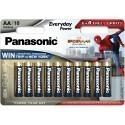 Panasonic patarei LR6EPS/10BW (6+4)
