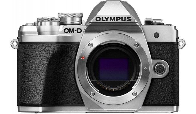 Olympus OM-D E-M10 Mark III kere, hõbedane