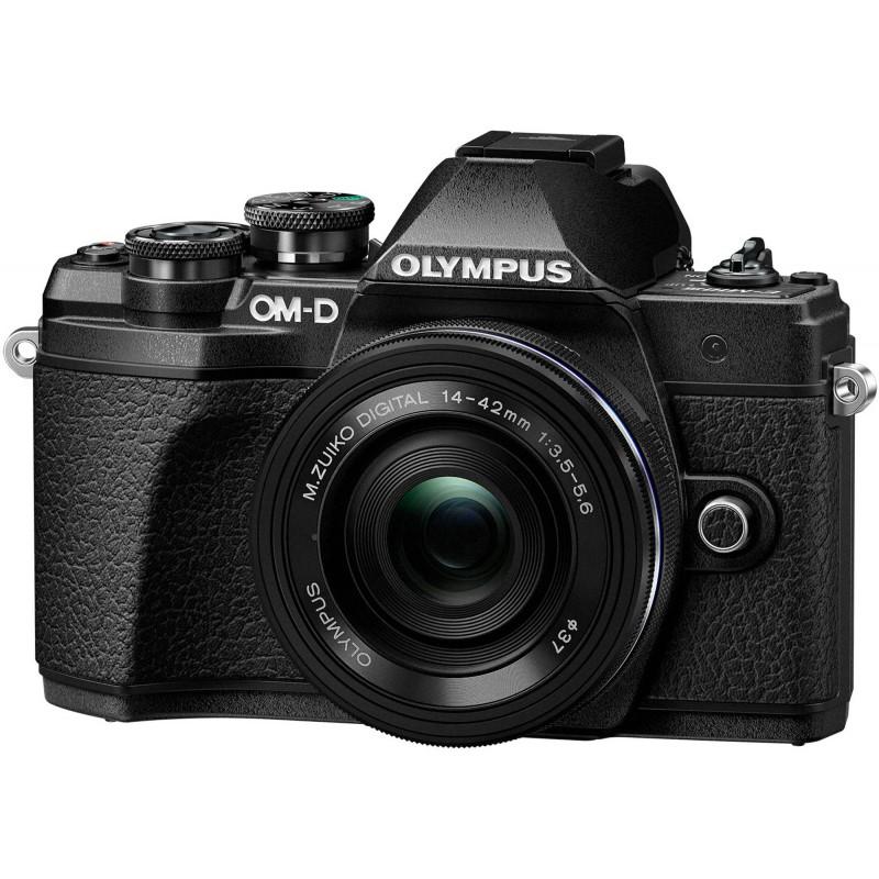 Olympus OM-D E-M10 Mark III + 14-42mm EZ Kit, must