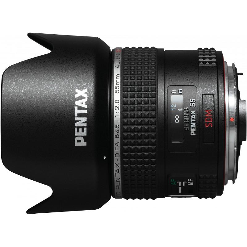 smc Pentax 645 D-FA 55mm f/2.8 AL (IF) SDM objektiiv