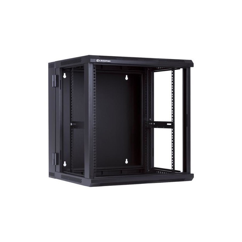 Linkbasic double section rack wall-mounting cabinet 19'' 12U ...