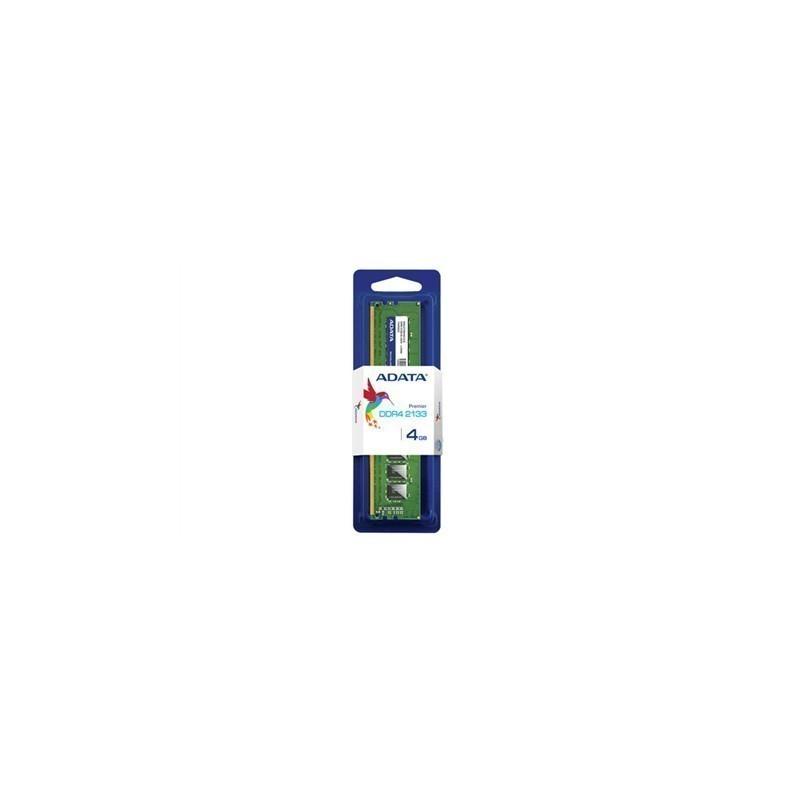 ADATA 4 GB, DDR4, 288-pin DIMM, 2133 MHz, Mem