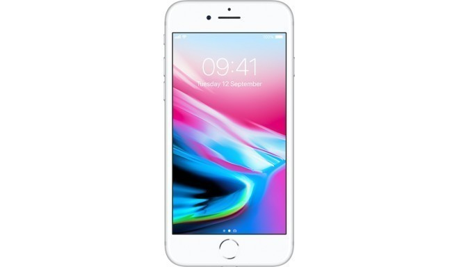 Apple iPhone 8 256GB, sudrabots