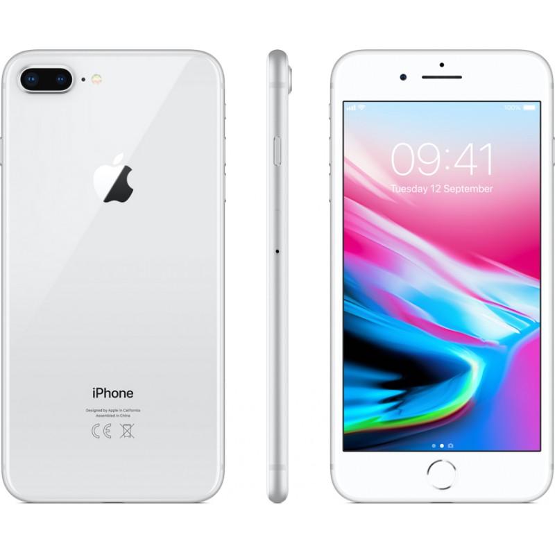 Apple iPhone 8 Plus 64GB, silver