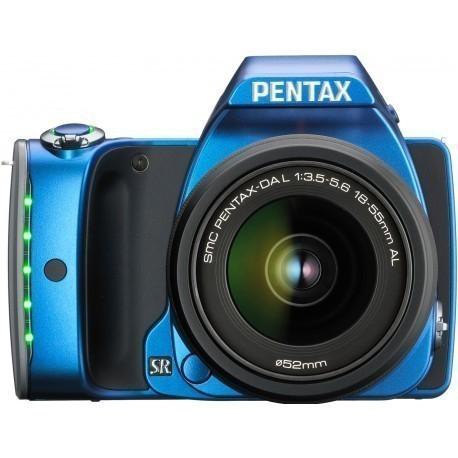 Pentax K-S1 + 18-55mm Kit, sinine