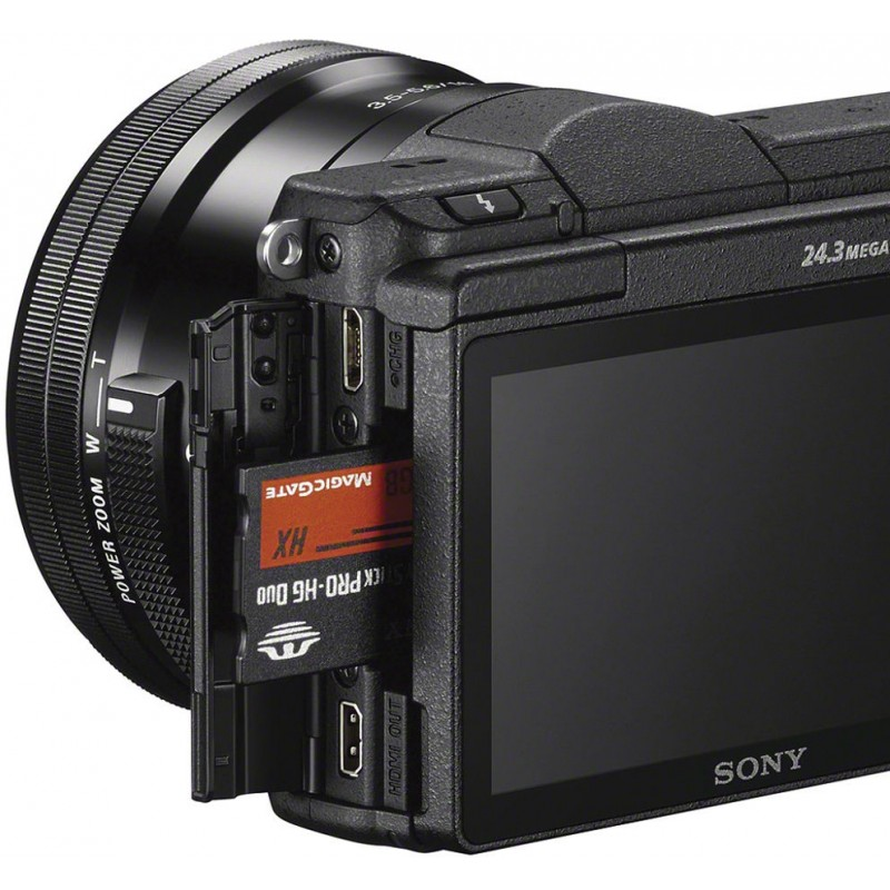 Sony a5100 + 16-50mm + 55-210mm Kit, must