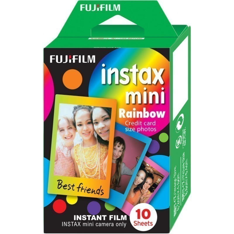 Fujifilm Instax Mini 1x10 Rainbow