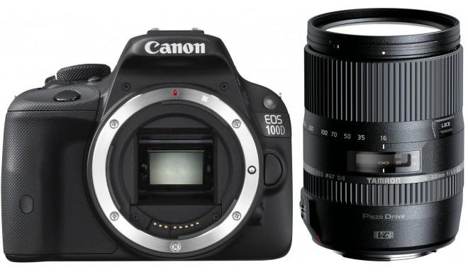 Корпус Canon EOS 100D +Tamron 16-300мм VC PZD