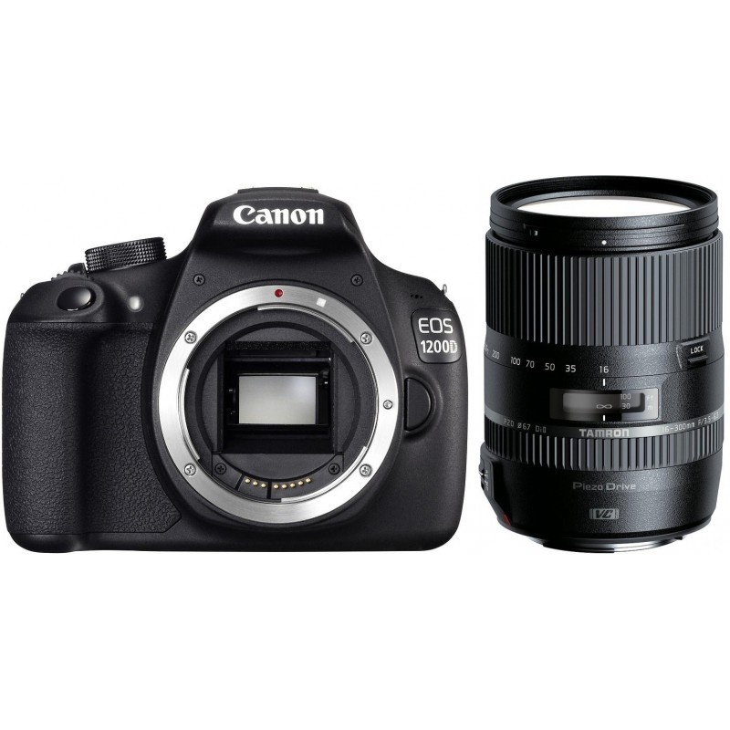 Canon EOS 1200D + Tamron 16-300mm VC PZD