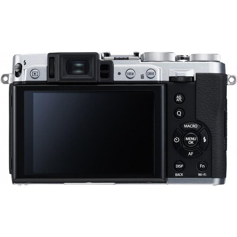 Fujifilm X30, hõbedane