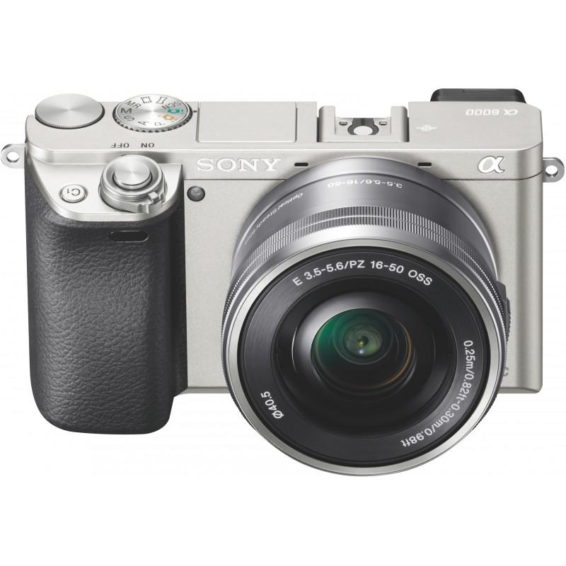 Sony a6000 + 16-50mm Kit, silver