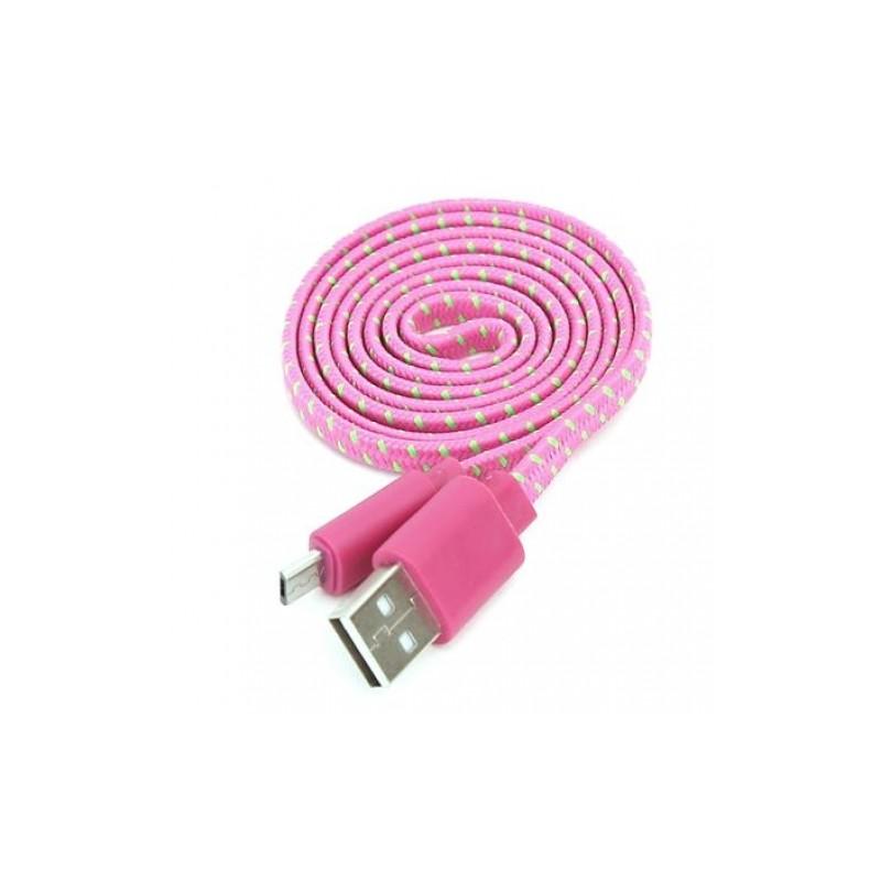 Omega kaabel microUSB-USB 1m ro/roh42327