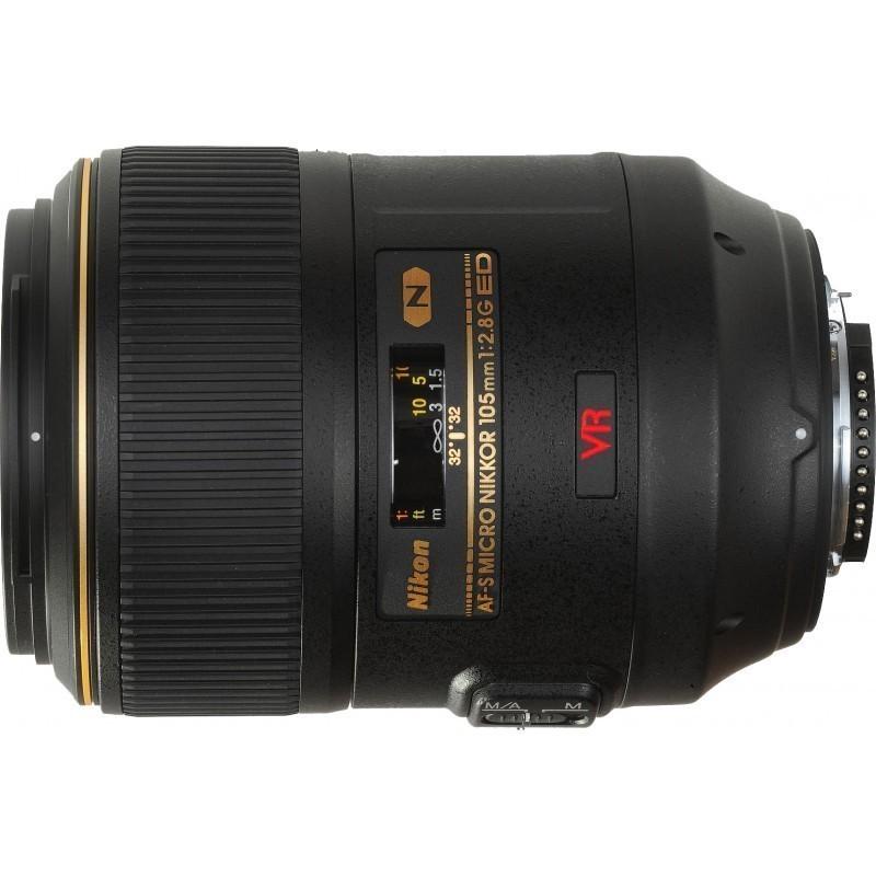 Nikon AF-S Micro-Nikkor 105мм f/2.8G IF ED VR объектив