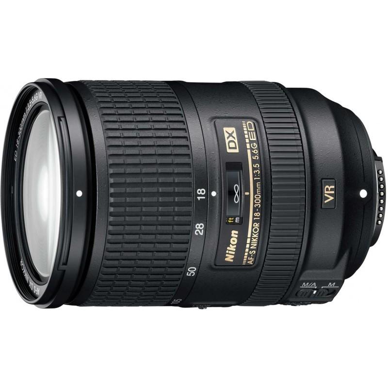 Nikon AF-S DX Nikkor 18-300mm f/3.5-5.6G ED VR objektiiv