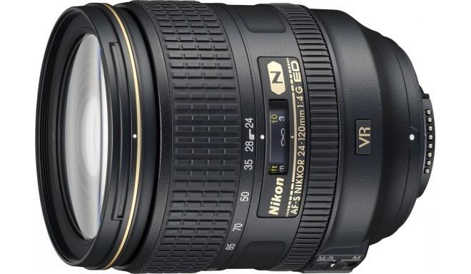 Nikon AF-S Nikkor 24-120mm f/4.0G ED VR objektiiv