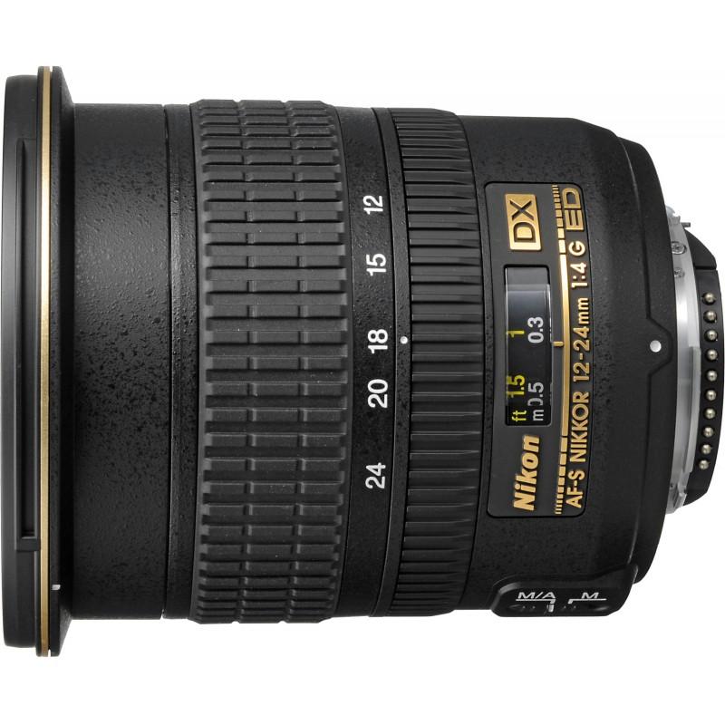 Nikon AF-S DX Nikkor 12-24mm f/4G IF-ED objektiiv